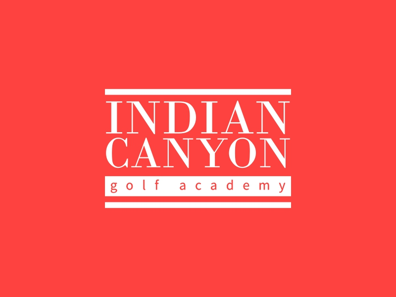 Indian canyon - golf academy
